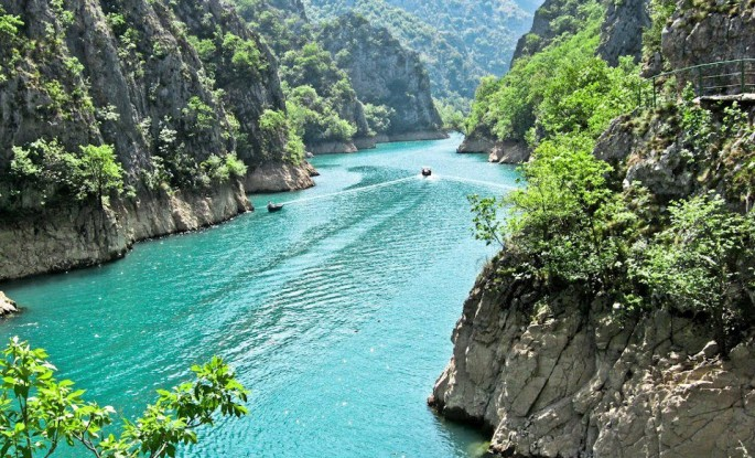 Visit to Canyon Matka - Skopje
